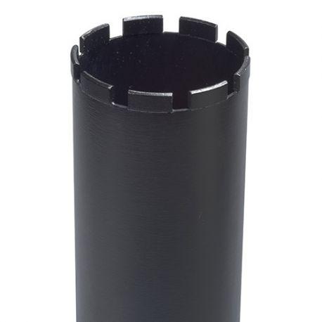 """Couronne diamantée 1 1/4"""" UNC SUPRA DK 654 B D. 202 x 4,5 x Ht.11 x 24 x Lu. 450 mm - Béton - 325787"""