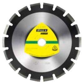 Disque diamant SUPRA DT 612 A D. 450 x 3,7 x Ht. 10 x 25,4 mm - Asphalte / Grès - 330078