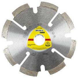 Disque diamant à déjointoyer SUPRA DN 600 U D. 115 x 6 x Ht. 7 x 22,23 mm - Joint / Mortier / Crépi - 330631