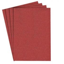 100 feuilles/coupes papier corindon auto-agrippant PS 22 K 100 x 115 mm Gr 80 - 103378 - Klingspor