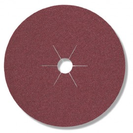 25 disques fibres corindon CS 561 D. 125 x 22 mm Gr 80 - 11016 - Klingspor