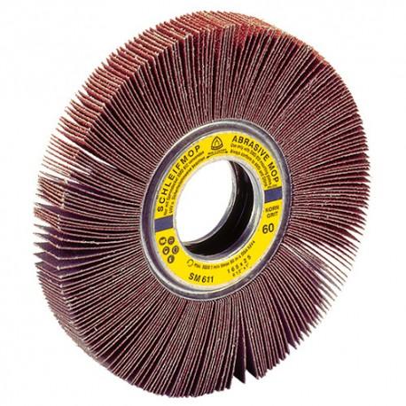 Roue à lamelles corindon SM 611 D. 250 x 50 mm Gr 60 - 12227 - Klingspor