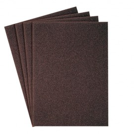 50 feuilles/coupes toile corindon KL 385 JF 230 x 280 mm Gr 600 - 218063 - Klingspor