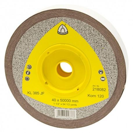 Rouleau toile corindon KL 385 JF Ht. 40 x L. 50000 mm Gr 40 - 218077