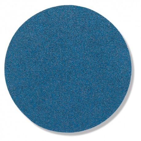 50 disques papier zirconium auto-agrippant sans trou PS 21 FK D. 150 mm Gr 80 - 230314 - Klingspor