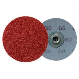 100 disques Quickchange corindon QMC 412 D. 50 mm Gr 100 - 295201 - Klingspor