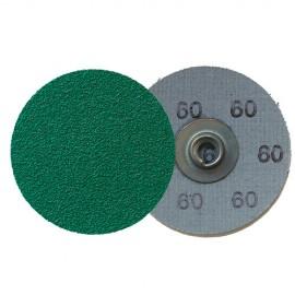 100 disques Quickchange céramique QMC 910 D. 50 mm Gr 80 - 295370 - Klingspor