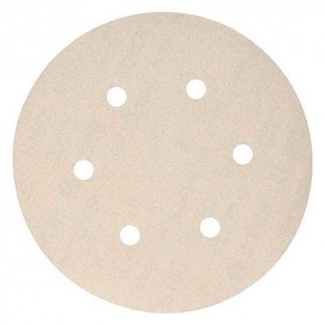100 disques papier auto-agrippant 6 trous PS 73 BWK D. 150 mm Gr 400 - 301228 - Klingspor