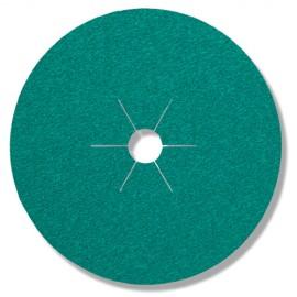 25 disques fibres céramique FS 966 D. 125 x 22 mm Gr 80 - 316497 - Klingspor