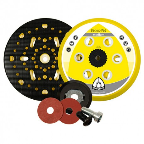 Plateau/support pour disques auto-agrippant HST 555 D. 150 mm x M 8 dureté moyenne - 320489 - Klingspor