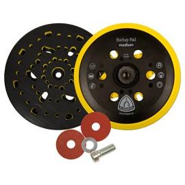 Plateau/support pour disques auto-agrippant HST 555 D. 150 mm x M 8 dureté moyenne - 320490 - Klingspor
