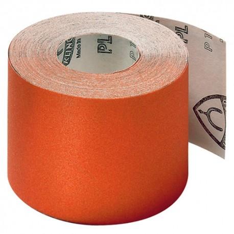 Rouleau papier corindon PL 31 B Ht. 110 x L. 50000 mm Gr 120 - 3214 - Klingspor