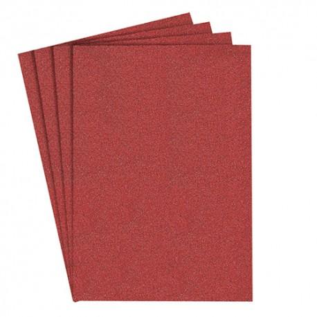 100 feuilles/coupes papier corindon PS 22 F 115 x 280 mm Gr 80 - 6532 - Klingspor
