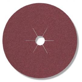 25 disques fibres corindon CS 561 D. 100 x 16 mm Gr 60 - 65730 - Klingspor