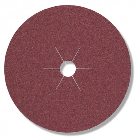 25 disques fibres corindon CS 561 D. 125 x 22 mm Gr 80 - 70439 - Klingspor