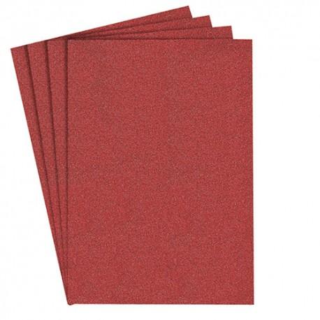 100 feuilles/coupes papier corindon auto-agrippant PS 22 K 115 x 115 mm Gr 80 - 82076 - Klingspor