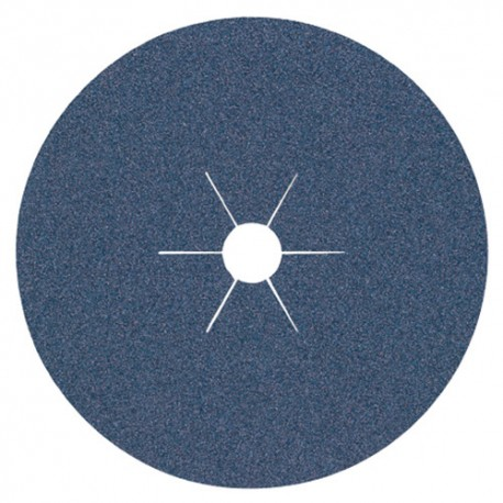 25 disques fibres zirconium CS 565 D. 180 x 22 mm Gr 50 - 93045 - Klingspor