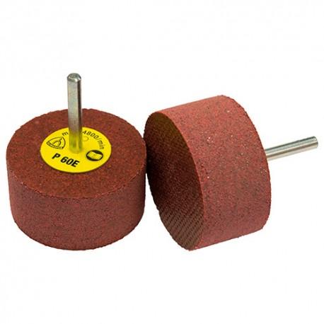 10 meules élastiques corindon D. 60 x 30 x 6 mm Gr. 240 - RFS 651 - 14032 - Klingspor