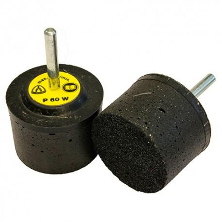 10 meules élastiques SiC D. 40 x 30 x 6 mm Gr. 60 - SFM 656 - 13859 - Klingspor