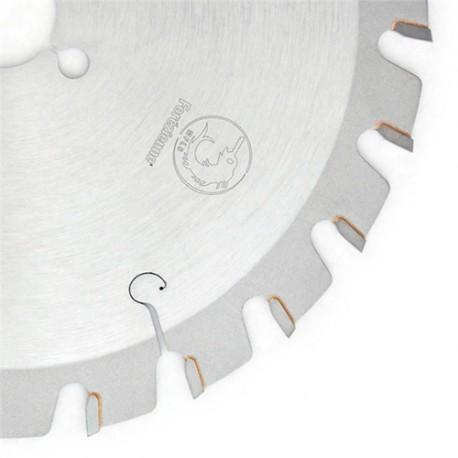 Lame circulaire carbure MFLS Spéciale coupe clous D. 235 x 1.8 x 2.8 x UB 34 x Al. 30 mm TE 2/7/42 et 2/10/155 mm- LC2353401M