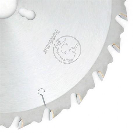 Lame circulaire carbure débit MFLS D. 600 x 2.8 / 4.2 x DLB 40 x Al. 30 mm TE 2/7/42 + 2/9/46 + 2/10/60 mm - LC6004001M