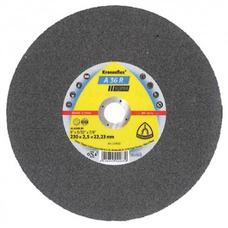Disque à tronçonner MP SUPRA A 36 R D. 230 x 2,5 x 22,23 mm - Acier inoxydable - 123833 - Klingspor
