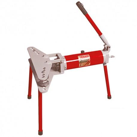 Cintreuse horizontale manuelle hydraulique 10 T + 6 formes - RBM 10 HOLZMANN