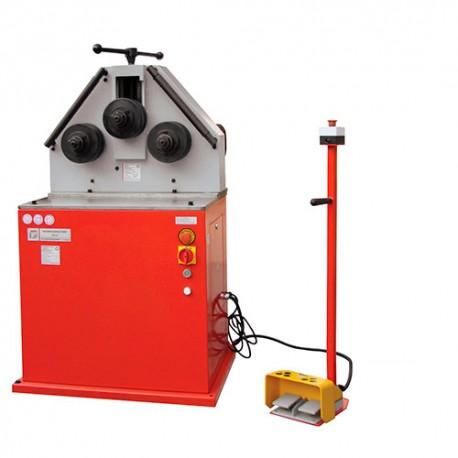 Cintreuse tubes et profilés à 3 galets - 400 V 1500 W - RBM 40K HOLZMANN