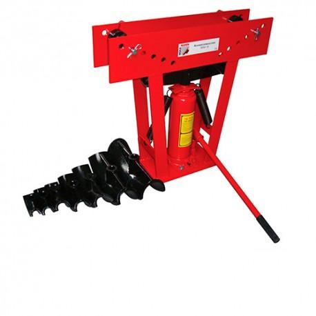 Cintreuse verticale manuelle hydraulique 16 T + 8 formes - RBM 16 HOLZMANN