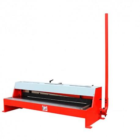 cisaille guillotine t le d 39 tabli manuelle pour coupe de feuilles 1050 x 1 25 mm tbs. Black Bedroom Furniture Sets. Home Design Ideas