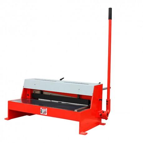 cisaille guillotine t le d 39 tabli manuelle pour coupe de feuilles 650 x 1 50 mm tbs 650pro. Black Bedroom Furniture Sets. Home Design Ideas