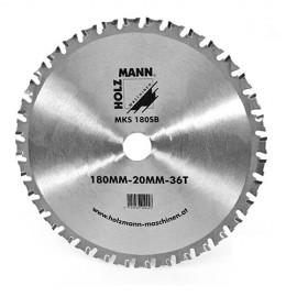 Lame carbure métal D. 180 x Al. 20 mm pour MKS 180 HOLZMANN