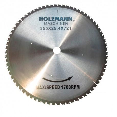 Lame carbure métal D. 355 x Al. 25,4 mm pour MKS 355 HOLZMANN