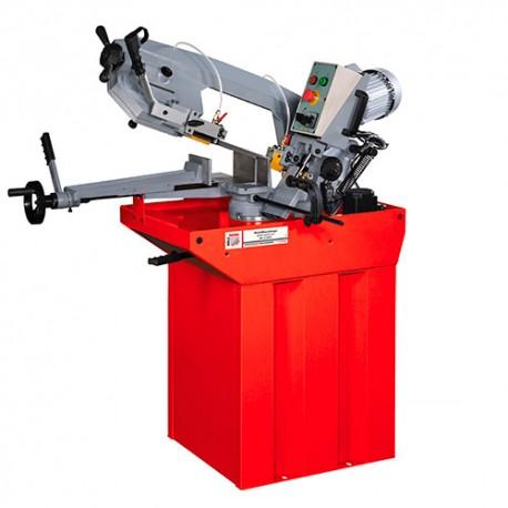 Scie à ruban métal descente semi-automatique D. 170 mm 230 V 750 W - BS 210GP-230V HOLZMANN