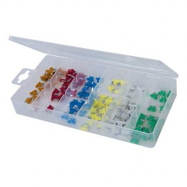 Coffret de 120 micro-fusibles - 361371 - Silverline