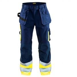 Pantalon Artisan haute visibilité Classe 1 - Blaklader - 15291370