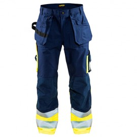 Pantalon Artisan haute visibilité Classe 1 - Blaklader - 15291860