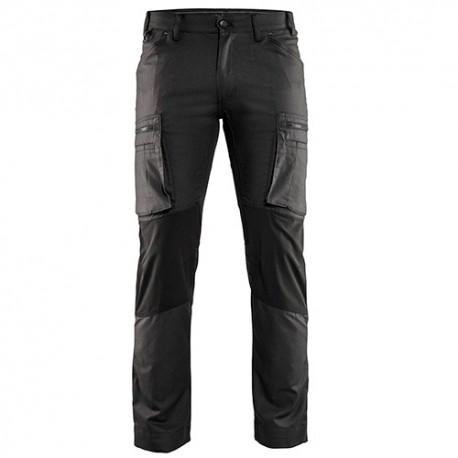 Pantalon Service avec panneaux Stretch - Blaklader - 14591146