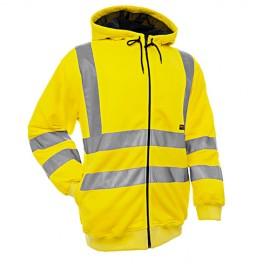 Sweatshirt à capuche haute visibilité - Blaklader - 33461974
