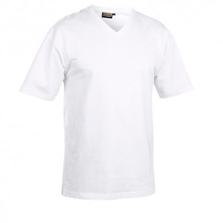 T-shirt col V - Blaklader - 33601165