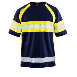 T-shirt haute visibilité Cl 1 - Blaklader - 33371051