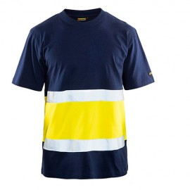 T-shirt Haute Visibilité Classe 1 - Blaklader - 33871030