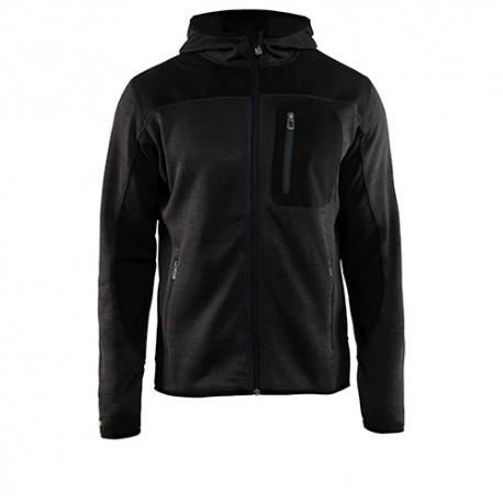 Veste légère d'Hiver tricotée à capuche - Blaklader - 49302117