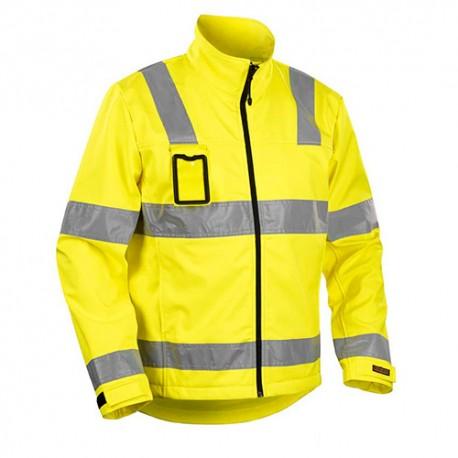 Veste softshell haute visibilité - Blaklader - 48382517