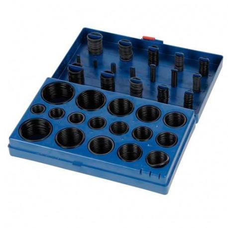 Coffret de 419 joints toriques assorties de 6 à 58 mm - 362244 - Fixman