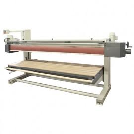 Ponceuse longue bande avec monte/baisse électrique L. 6400 x l. 150 mm - 3000 W 400 V - BS220B - Holzprofi