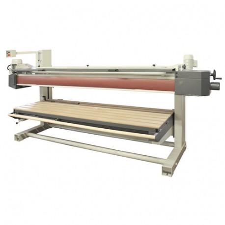 Ponceuse longue bande avec monte/baisse électrique L. 7000 x l. 150 mm - 3000 W 400 V - BS250B - Holzprofi