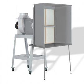 Cabine de finition 3840 m3/H - 1500 W 230 V - CF1 - Holzprofi