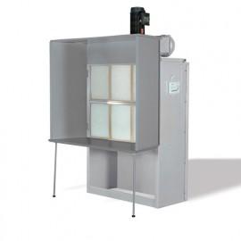 Cabine de finition 5760 m3/H - 3000 W 400 V - CF2 - Holzprofi