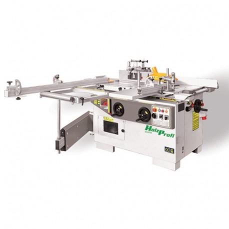 Combinée 5 opérations avec inciseur - 3 x 2200 W 230 V - COMB320E-MONO - Holzprofi